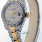 Rolex Ladies 79173 Datejust 18k Gold & Steel Watch...