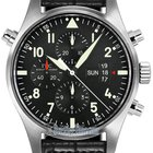 IWC Pilot's Watch Double Chronograph Mens Watch