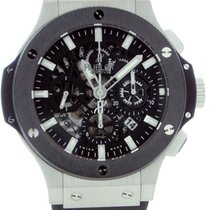 Hublot Big Bang Aero Bang Stainless Steel Ceramic Bezel