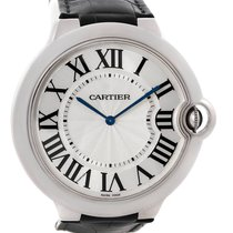 Cartier Ballon Bleu Extra Thin XL 18K Solid White Gold