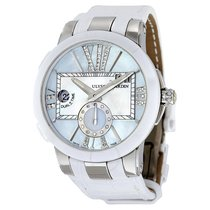 Ulysse Nardin Executive Dual Time Mother of Pearl Dial Diamond...