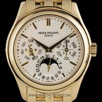 Patek Philippe 18k Y/Gold Cream Dial Perpetual Calendar...