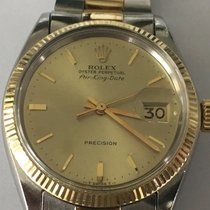 Rolex Air King Date Ref. 5701 14K/SS On Oyster