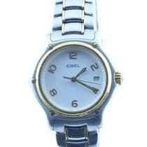 Ebel Classic Wave Damen Uhr 28mm Quartz Stahl/gold Mit...