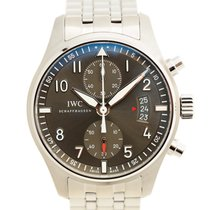 IWC Pilots Stainless Steel Gray Automatic Iw387804