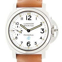 沛納海 (Panerai) New  Luminor Stainless Steel White Manual Wind...