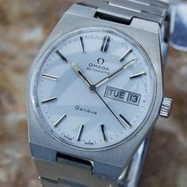 Omega Geneve Swiss Made Men's 1970s Automatic Stainless...