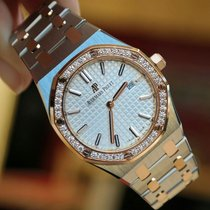 Audemars Piguet Royal Oak 18K Rose Gold and Stainless Steel...