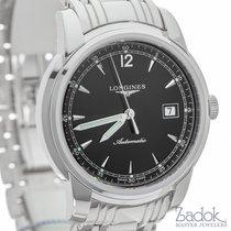 Longines Saint Imier Black Dial 41mm Watch Ref L27664596 Date...