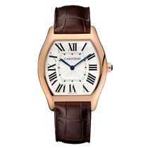Cartier Tortue Automatic Mens Watch Ref WGTO0002