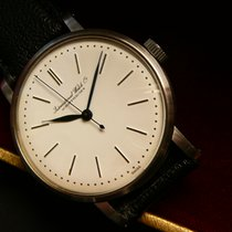 IWC Cal 89 Patrimony Style dial, Blue Hands, steel case Ø 35 mm