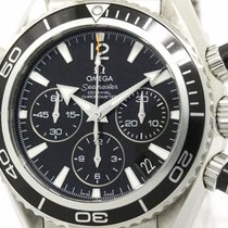 Omega Polished Omega Seamaster Planet Ocean Midsize Watch...