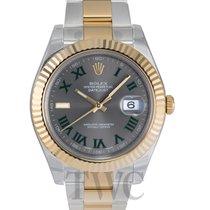 롤렉스 (Rolex) Datejust II Silver/18k gold Ø41 mm - 116333