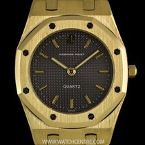 Audemars Piguet 18k Yellow Gold Grey Dial Royal Oak Mid-Size...