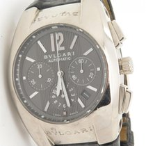 Bulgari Ergon Solid 18k White Gold Chrono Automatic Men's...