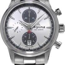 Alpina Geneve Alpiner Chronograph AL-750SG4E6B Herren Automati...