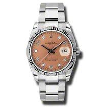 Rolex Date 34mm Date 34mm Fluted 115234 pdo