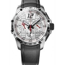 Chopard 168535-3002 Classique Racing Chronograph Mens 45mm in...