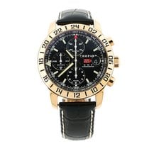 Chopard 18kt Rose Mille Miglia Chronograph GMT Watch Limited...