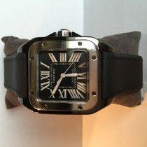Cartier Santos 100 black