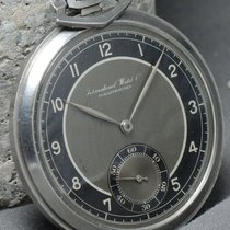 IWC Breathtaking IWC Art Deco Pocket Watch black dial