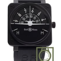 Bell & Ross Black BR 01 92 Turn Coordinator Horizon...