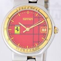 Cartier Ferrari Stahl Gold red Klassiker rot Sammler selten