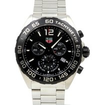 TAG Heuer Formula 1 CAZ1010.BA0842 Black Index Stainless Steel...