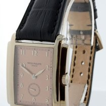 Patek Philippe 5024 Gondolo 18k White Gold Mens Watch Box/Pape...