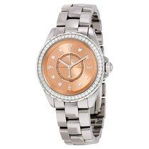 Chanel J12 Chromatic Diamonds Pink Dial Titanium Ceramic...