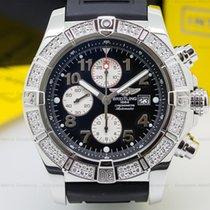 Breitling 1337053/B682 Chronomat Evolution SS Black Dial...