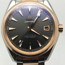 Omega SEAMASTER AQUA TERRA 40MM STEEL ROSE GOLD LIKE NEW