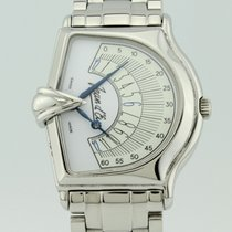 Jean d'Eve Sectora Retrograde 2000 Quartz Steel  065461