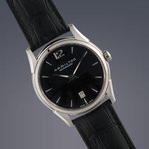 Hamilton Jazzmaster Slim steel automatic watch