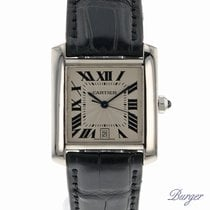 Cartier Tank Francaise GM White Gold