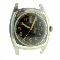Rolex Mens Vintage 1940s Cushion Army Rolex Ref. 3139 Military...