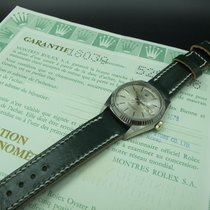 Rolex DAY-DATE 18039 with Silver Patina Dial and Paper