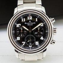 Blancpain 2185F-1130-71 Leman Flyback Chronograph Black Dial...