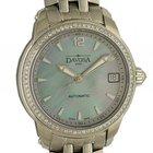 Davosa Ladies Delight Stahl Diamond Perlmutt Automatik 34mm
