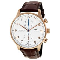 IWC PORTOGHESE ROSE GOLD WHITE DIAL