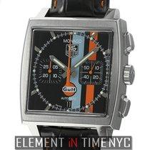 TAG Heuer Monaco Chronograph Gulf Steve McQueen Porsche 917...
