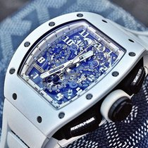 Richard Mille [NEW+RARE] RM 011 White Ghost LTD 30PC (Retail:U...