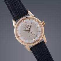 Omega Seamaster 18ct gold automatic watch