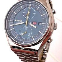 Seiko Vintage 6138-3000 Jumbo Automatic 21J Day/Date Chronograph