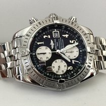 Breitling Chronomat Evolution Pilotband Steel 44 mm (Full Set...