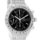 Omega Speedmaster Date Black Dial Chronograph Mens Watch...