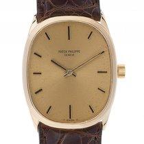 Patek Philippe Golden Ellipse 18kt Gelbgold Handaufzug Armband...