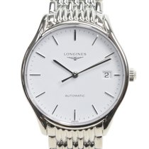 Longines Lyre Stainless Steel White Automatic L4.860.4.12.6