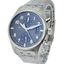 IWC IW387804 Spitfire Chronograph in Steel - on Bracelet with...