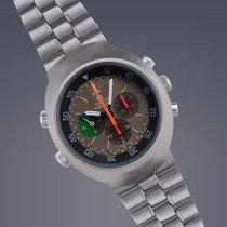 Omega Flightmaster MKI 'Tropical' stainless steel...